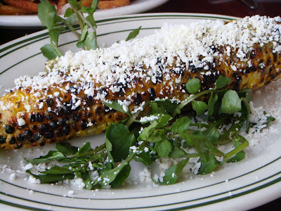 Grilled summer corn at All Star Sandwich Bar, Cambridge, Mass.