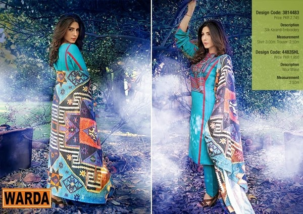 Warda Designer Shawls 2015-2016