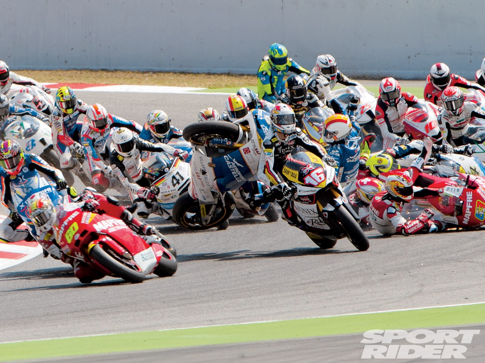 MOTOGP: MOTOGP BIGGEST CRASH