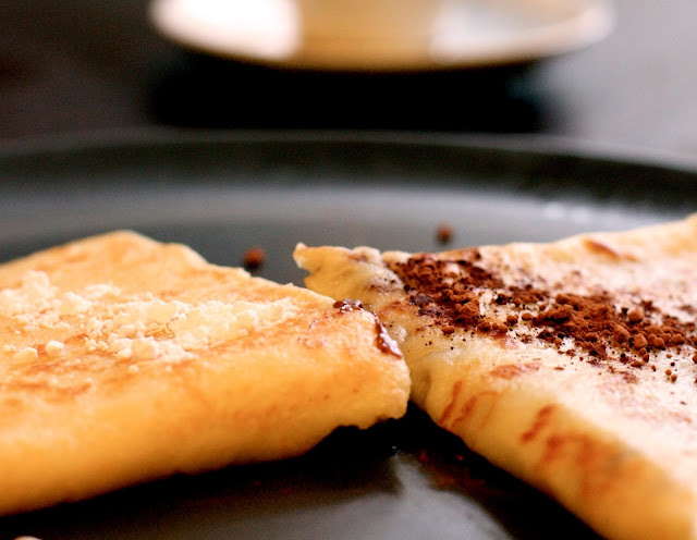 Crepes alla Nutella - Ricetta Facile