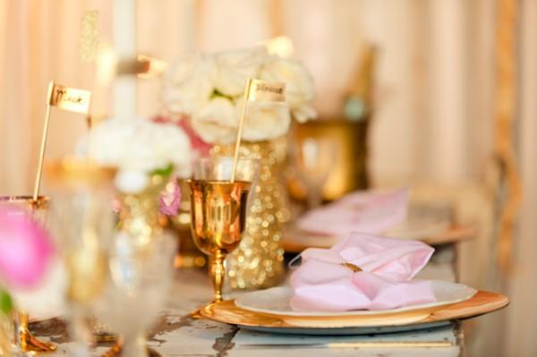 Champagne goblets wedding
