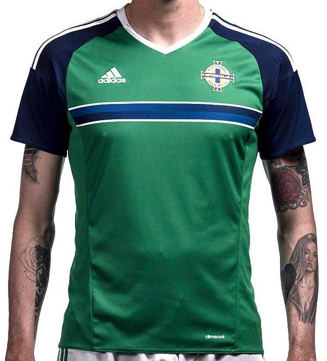689a3f8bf4 Adidas lança nova camisa titular da Irlanda do Norte - Show de Camisas