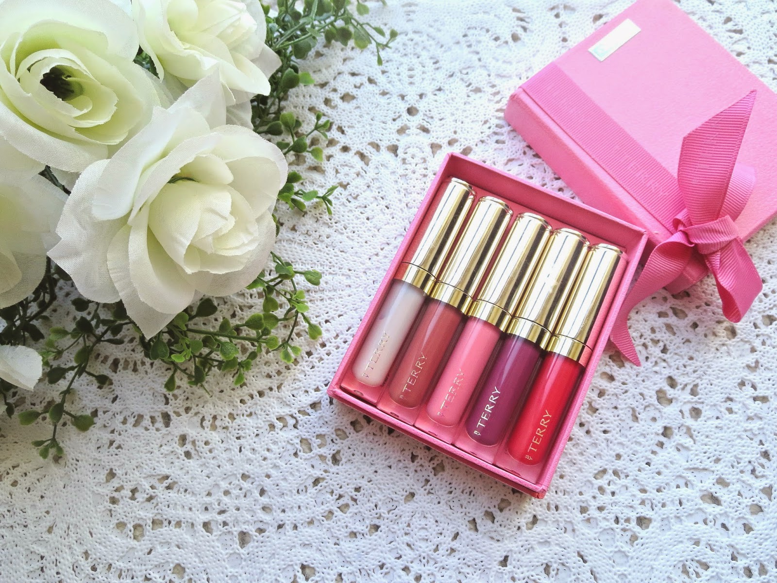 a picture of By Terry Baume De Rose Lip Gloss Set