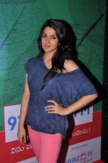 Actress Sakhi Chowdary Pictures in Tight Jeans at Green Ganesh 0010.jpg