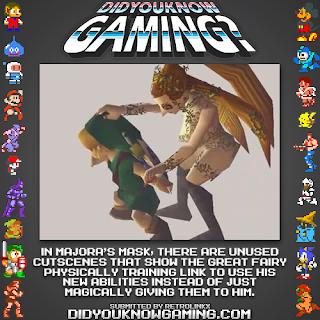 majoras mask fact Random Game Facts   Link Training In Majoras Mask