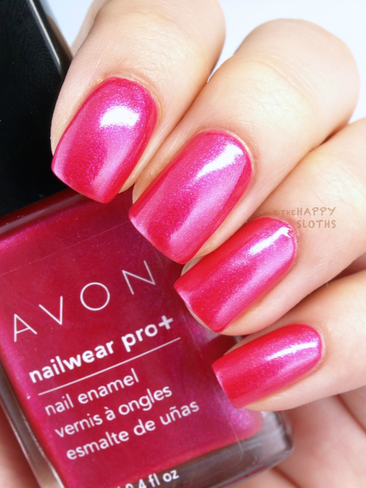 Avon Electric Shades Collection Nailwear Pro+ Nail Enamel: Review ...