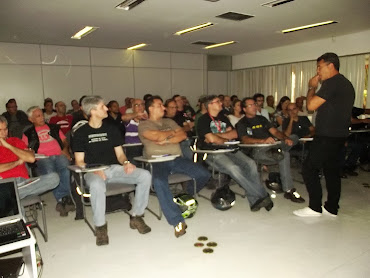 Palestra para ouvintes clientes da Porto Seguro, pilotos do Rio de Janeiro, dia 8 de Junho de 2013.