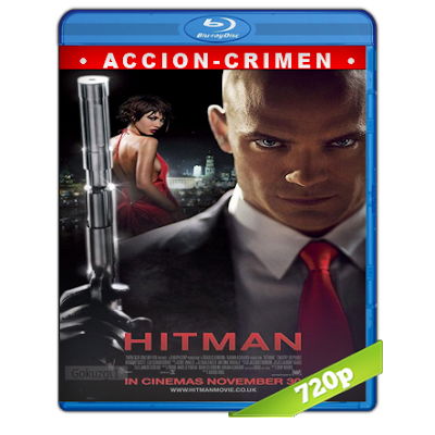 Hitman (2007) BRRip 720p Audio Trial Latino-Castellano-Ingles 5.1