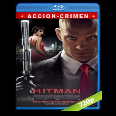 Hitman (2007) BRRip 720p Audio Trial Latino-Castellano-Ingles 5.1