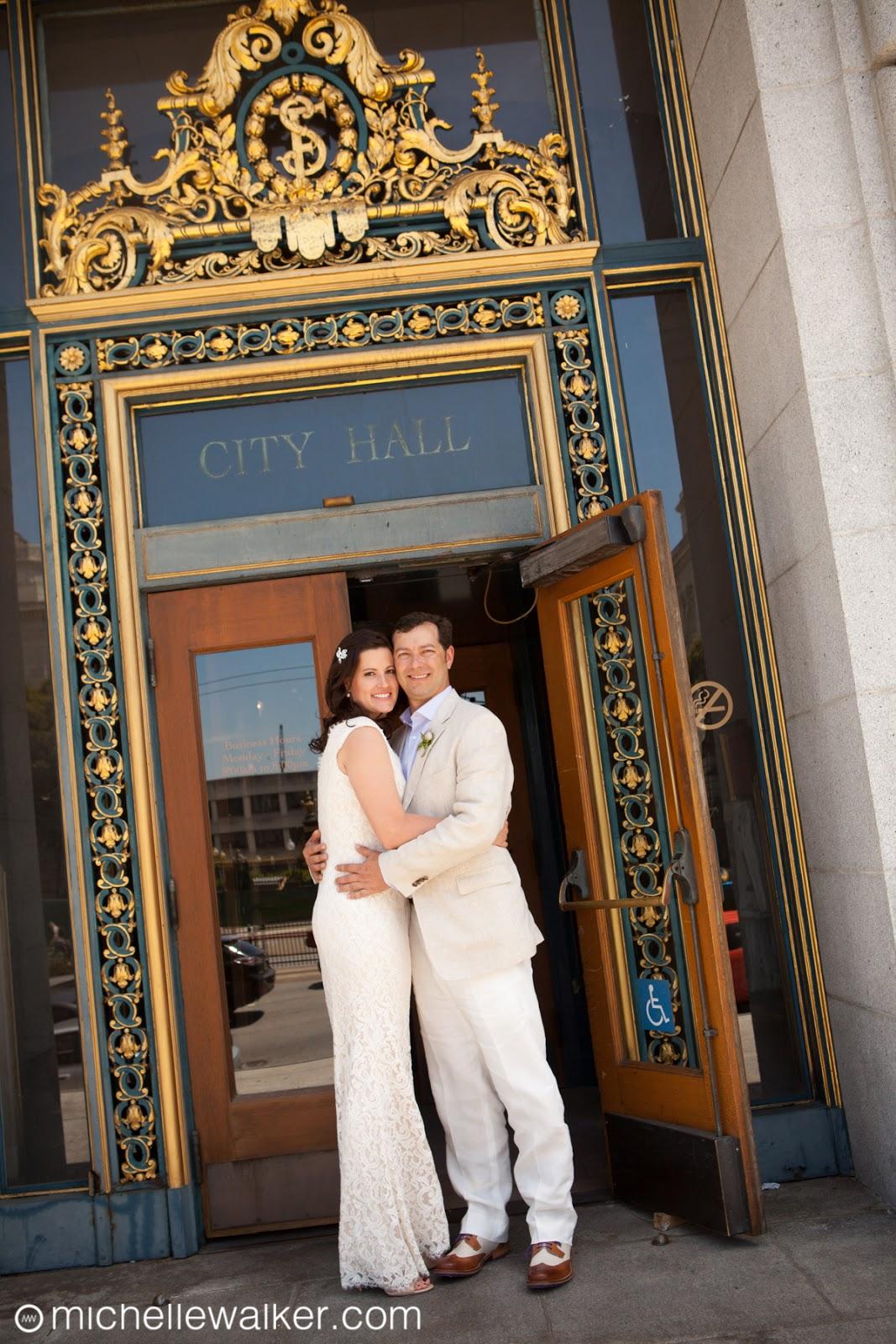 Michelle Walker Photography San Francisco City Hall Wedding