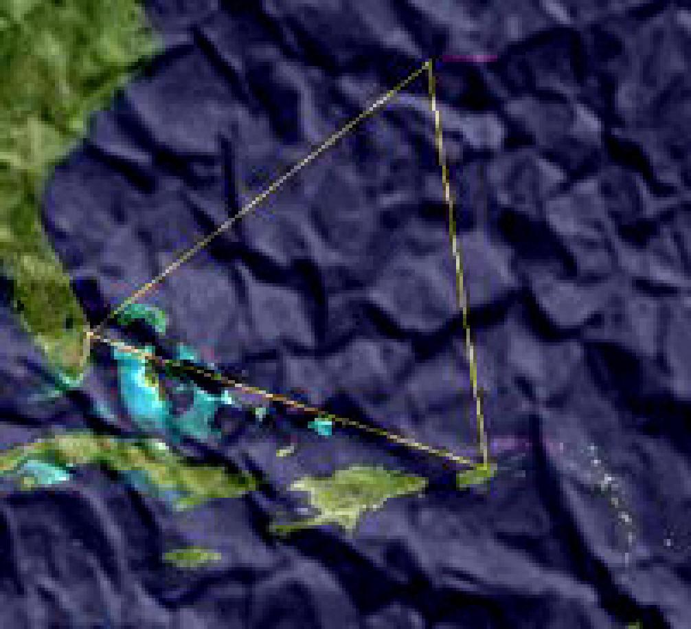 Google maps earth satellite - Bermuda Triangle Map Satellite Views