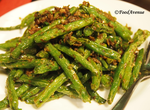 Green Beans With Sichuan Pork Recipe — Dishmaps