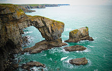 The Green Bridge of Wales, Pembrokeshire Coast National Park
