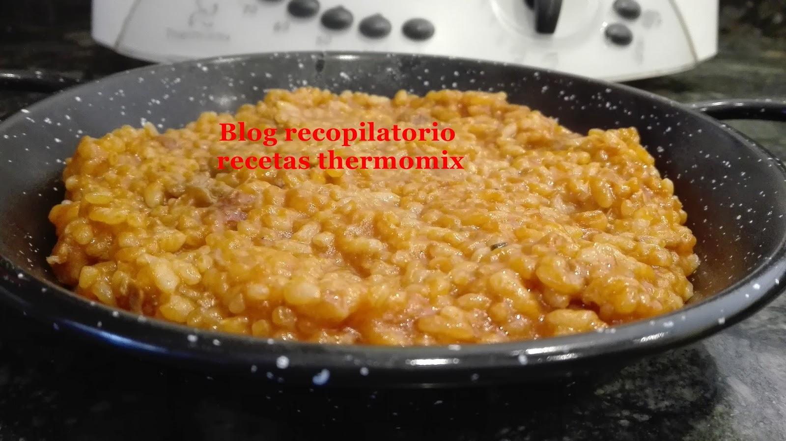 Recopilatorio de recetas thermomix risotto con ternera - Risotto tomate thermomix ...