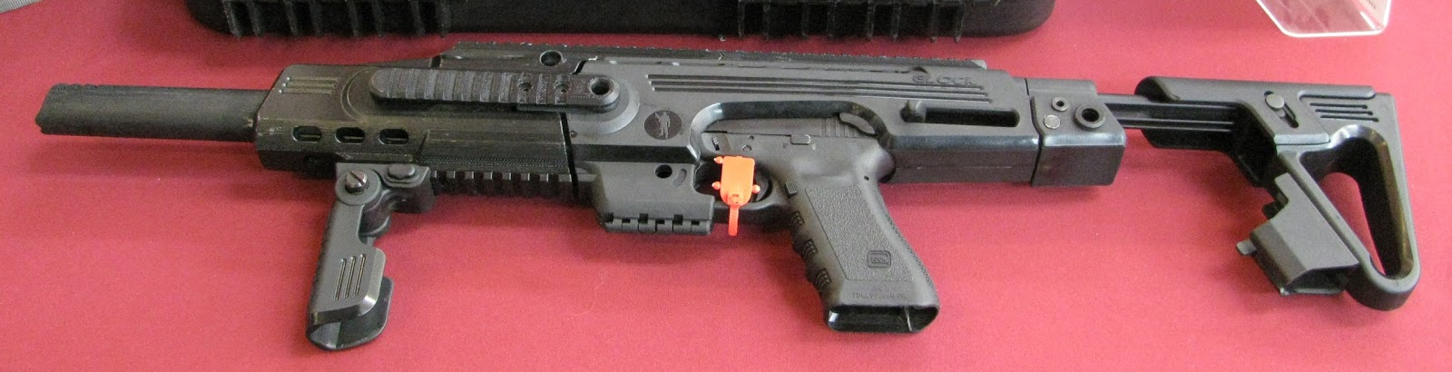 Roni Carbine Kit Roni's Glock 21 Based Carbine