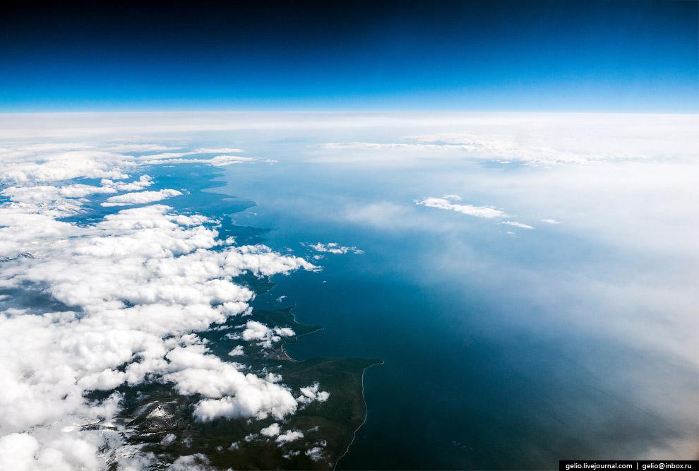 Красивые фотографии из окна самолёта за 2015
