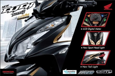 2013 Honda Vario 125i PGM-FI To Introduce In Indonesia on March 2012