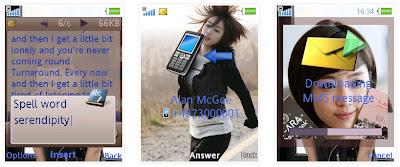 恩靜@T-ARA SonyEricsson手機主題for Elm/Hazel/Yari/W20﹝240x320﹞