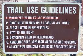 Can I use My Powered Bicycle On A Bicycle Trail??
