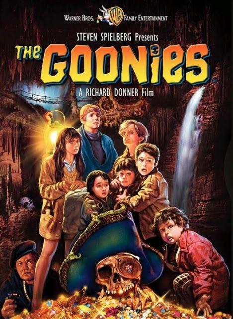 Hoe kregen de Fratellis hun bandnaam - Goonies - Film poster - Steven Spielberg