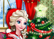 Elsa Frozen Christmas Home