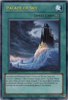 Quando um Monster Card é Summon do seu lado do campo, coloque 1 Sky Counter nesta carta. Na End Phase do seu turno, se esta carta possuir 7 ou mais Sky Counters, o oponente deverá escolher 1 carta que ele controla no campo ou na mão e mandá-la para o Graveyard.