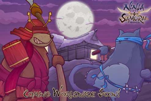 Download Ninja Cats vs Samurai Dogs