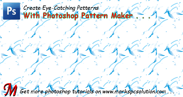 Pattern Maker Filter in Photoshop