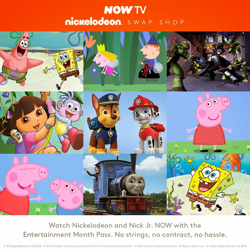 Now TV, Nick Jr