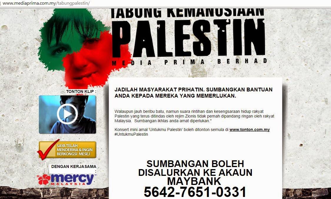 Humanitarian fund for Palestin UntukmuPalestin