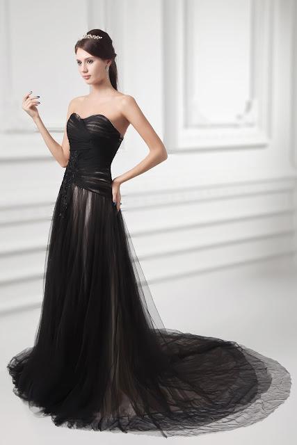 cheap black Wedding Dresses UK
