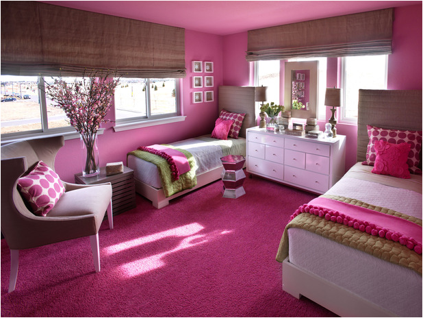 Decorating girls room with two twin beds room design ideas Design 2 decor