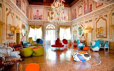 cena di note: arte contemporanea in una villa del 500, cucina d'autore e un omaggio al verdi piu' intimo