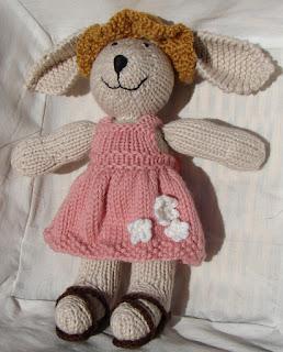 knit bunny sundress sandals straw hat