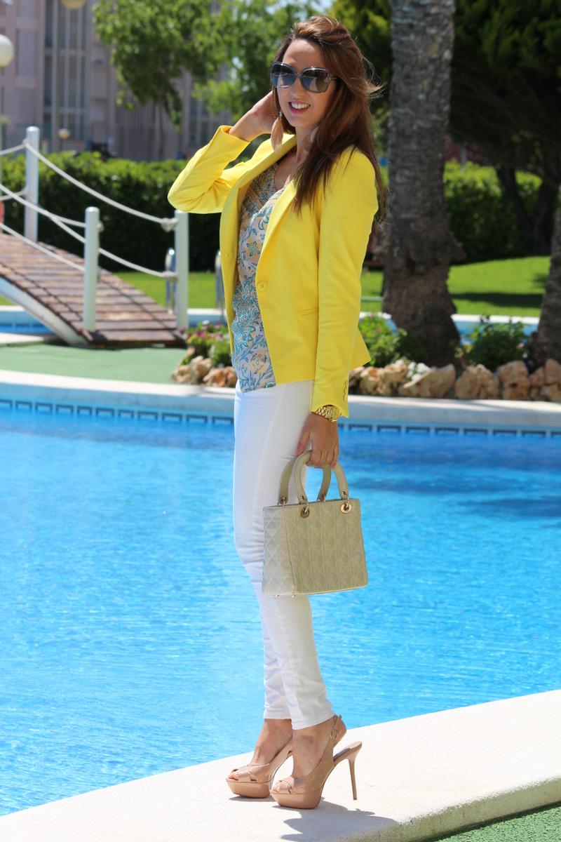Lemon yellow estilo stiletto by leticia p rez personal - Personal shopper alicante ...