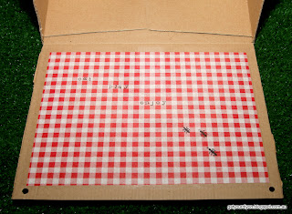 DIY Picnic basket out of an IKEA carry box http://getyourdiyon.blogspot.com.au/