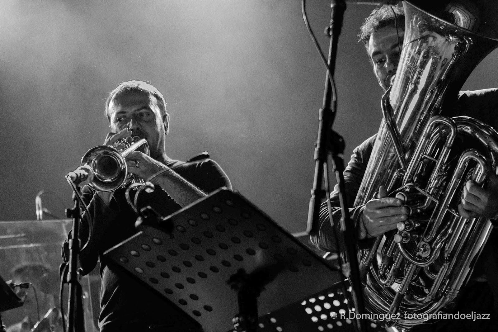 © R.Domínguez-Orchestre National de Jazz-Fidel Fourneyron-Fabrice Martinez