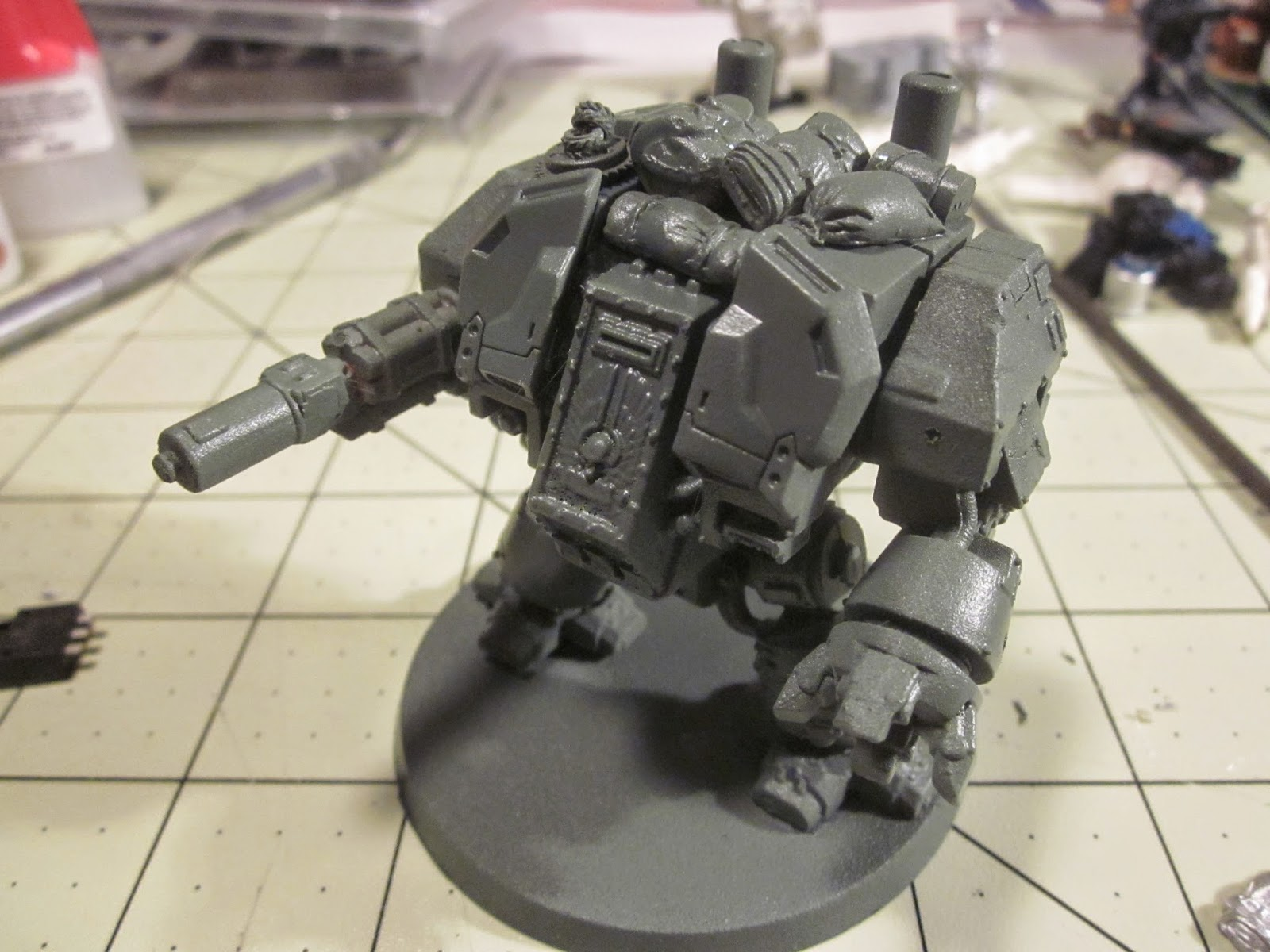 Warhammer 40k Dreadnought Conversion