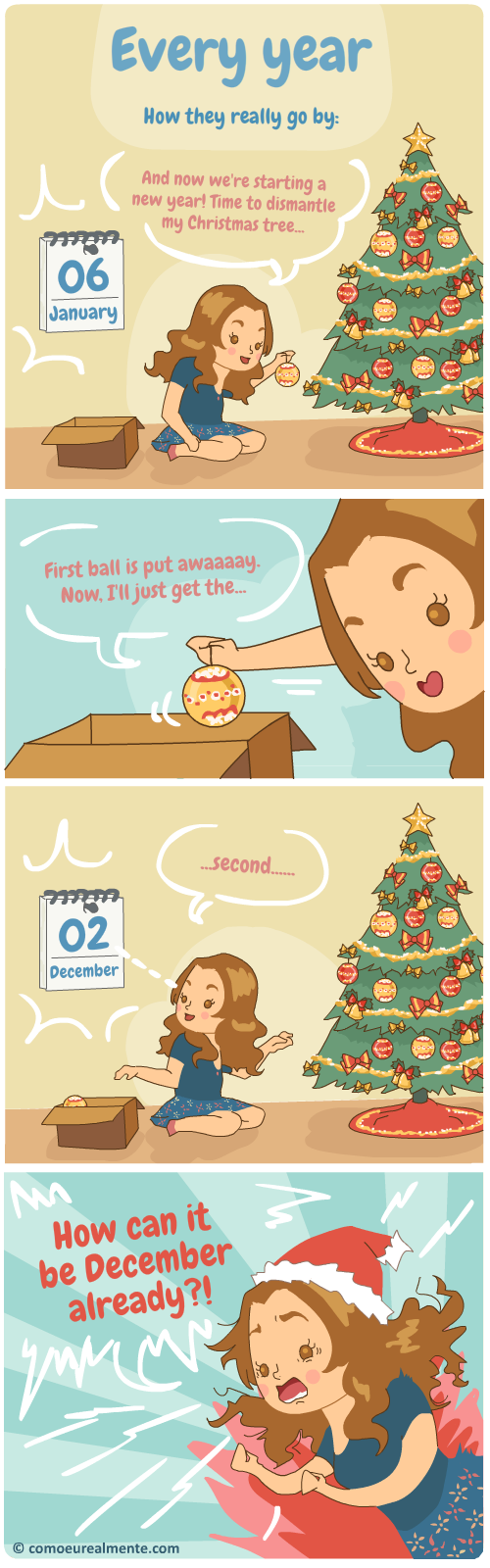 How every year really goes by - really fast!