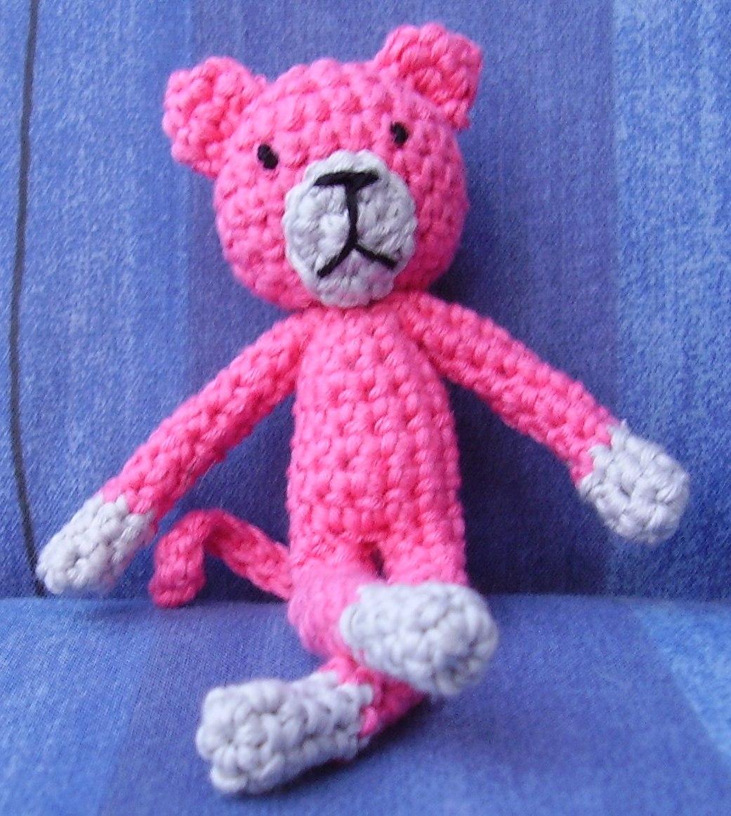 Tejiendo con Max: Pantera rosa.
