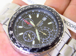 SEIKO CHRONOGRAPH CALCULATOR BEZEL
