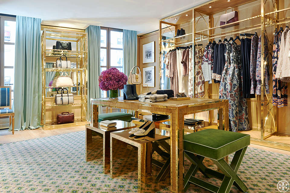 Portobello Design Another American In Paris Tory Burch