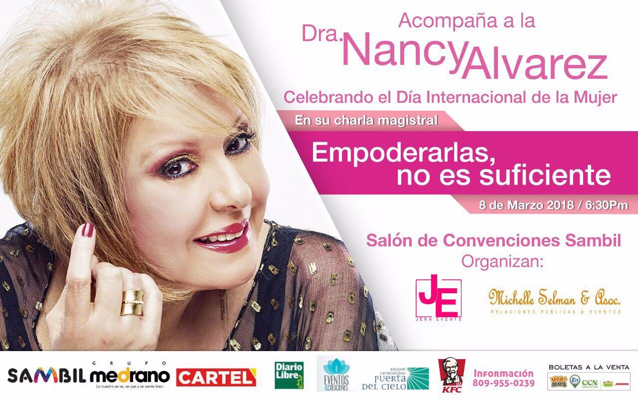 Celebra el Día de la Mujer con la Dra. Nancy Alvarez