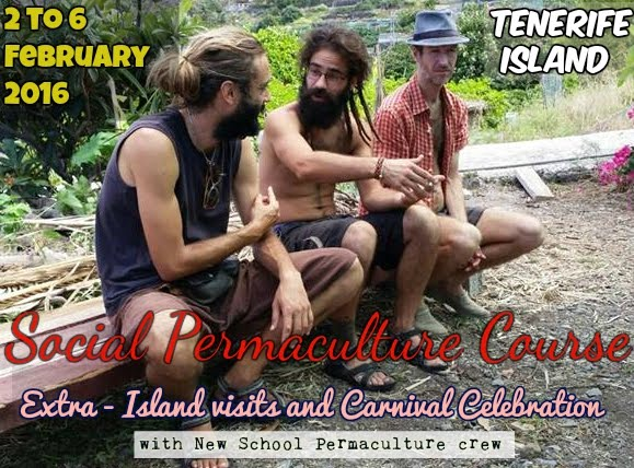 Social Permaculture Course in Tenerife island Spain