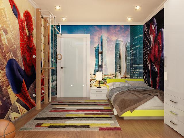 design and decoration dormitorios hombre ara a spiderman bedrooms