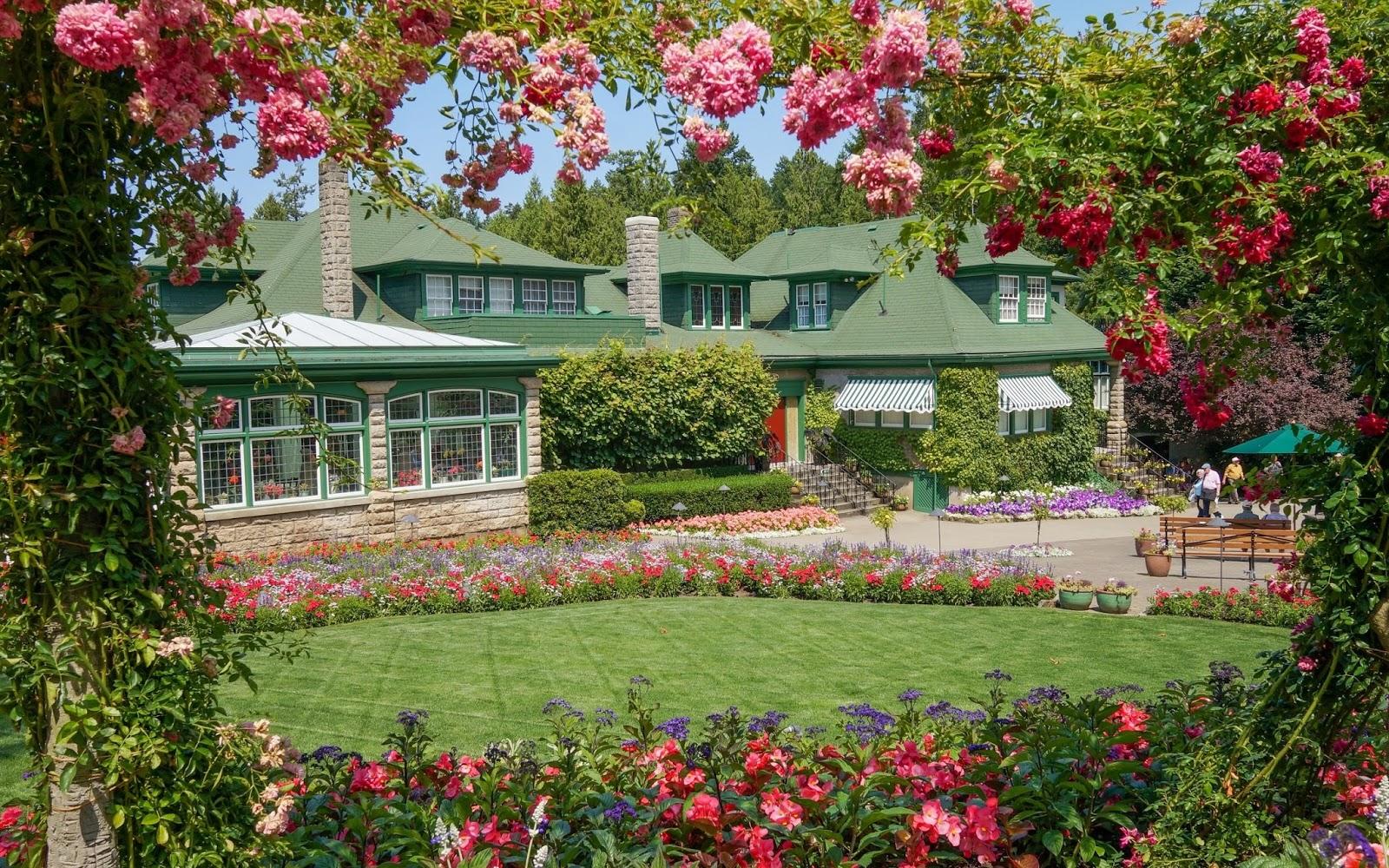 flores jardins fotos : flores jardins fotos:Flores Jardines Butchart
