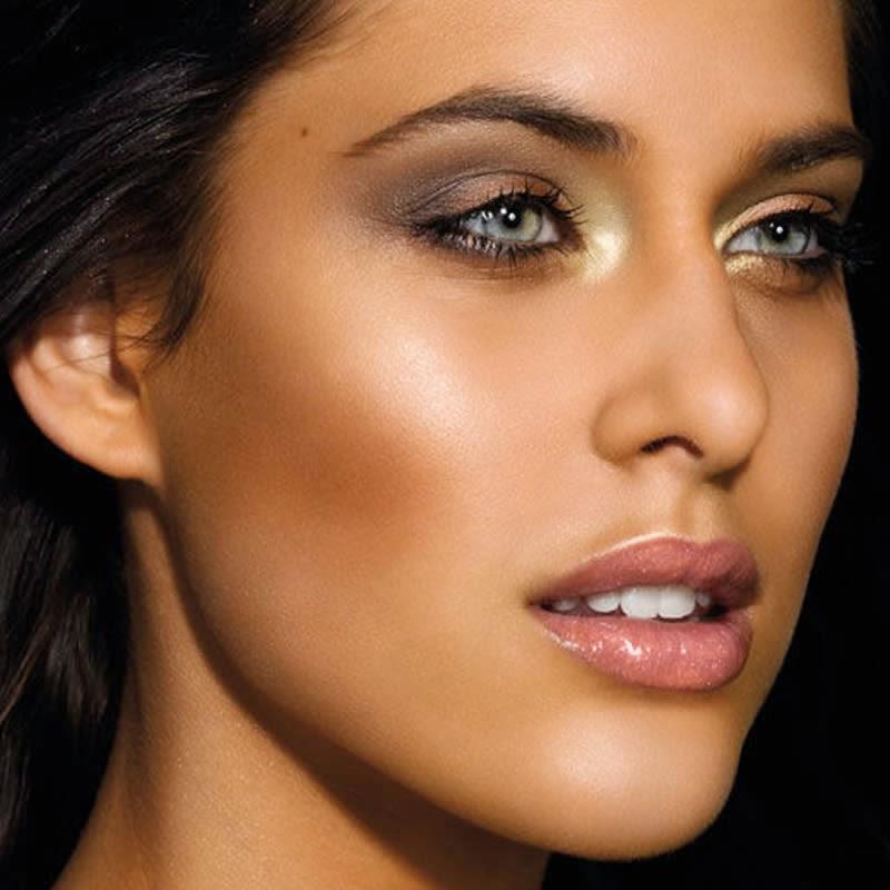 Как сделать кожу лица смуглым