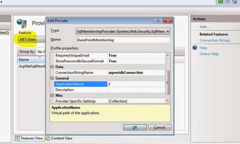IIS 7 add .NET Users