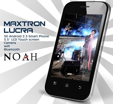 Maxtron Lucra HP Android 3G harga dibawah 1 juta