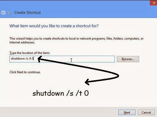 how-to-make-shutdown-button-in-windows